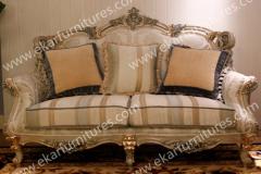 Antique Carved Star Hotel Sofa, Sofa Furniture