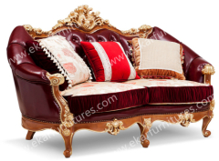 Classic sofa leather, 5 Star Hotel Furniture Suit Room