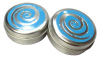 candy / mint tin box in 2 pc can with glossy varnish and embossing on lid