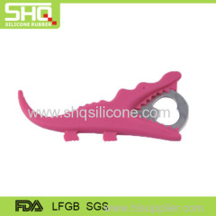 Cute animal silicone bottle opener