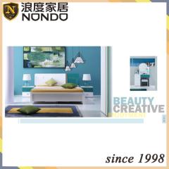 European stytle modern bedroom sets MDF bed 5112