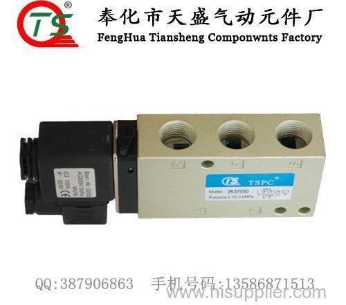 5/2 way single coil herion solenoid valve