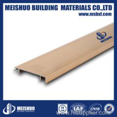 Metal baseboard in flooring accessaries