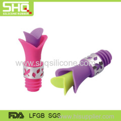 Popular silicone rubber wine bottle plugs