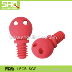 Popular silicone wine bottle plugs