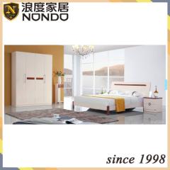 Fashion wooden bedroom set MDF bed 5206