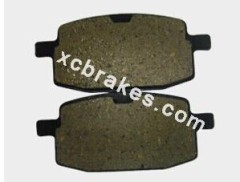 semi-metal brake pad for motorcycle