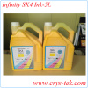 Infinity sk4 solvent ink