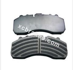 disc brake pad for brake cv pad IVECO