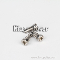 2015 Hot Sales Wholesale stainless steel custom made special high quality micro tapping screw for toy