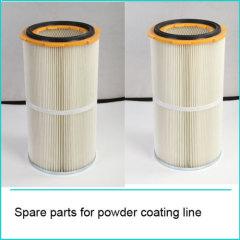 Anti-Static Powder Coating Cartridges Filter