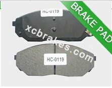 Auto accessories ceramic brakes pad for NISSAN-SUNNY(SEA)PULSAR N15