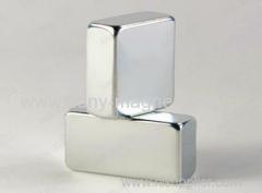 N48 L13*13*3.1mm Block Neodymium Countersink Magnet