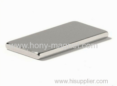 N35 Ni L14*8.5*0.7mm Thin Block Magnet