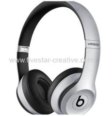 Beats New Solo2 Wireless Bluetooth Headphones Silver from China manufacturer