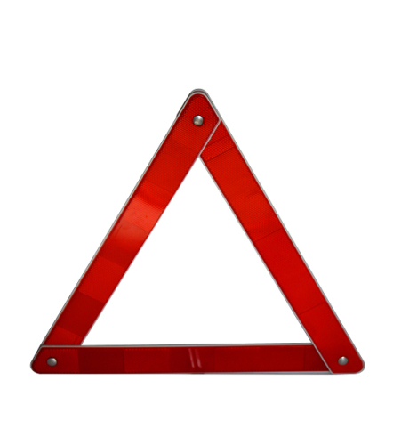 Hot Sale Plastic Foldable Safety Traffic Best Selling Car Accessories Car Warning Triangle