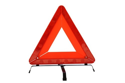Hot Sale in Europe Country Traffic Alibaba China Folding Warning Triangle Sign with Car Accessories