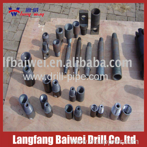 Reducing union drill pipe