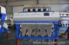 Dehydrated vegetable CCD color sorter/ pepper color selector/ shrimp processing sorter