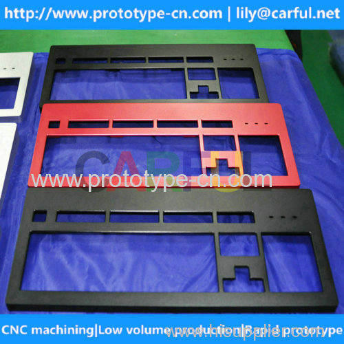 China cnc machined aluminum parts of computer products