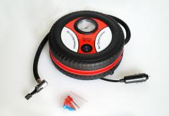 Auto Car Type 260Psi Dc 12V Mini Portable Air Compressor with Car Accessories 2015