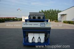 Pistachio CCD color sorter / High quality color selector/ high throughput processing sorter