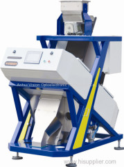 Filbert CCD color sorter / High quality walnut kernels color selector/ high throughput processing sorter