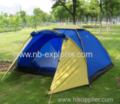 3 persons outdoor camping tent