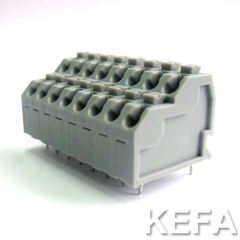 spring terminal block for double wire connection KF250T