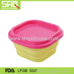 Food grade silicone preservation box