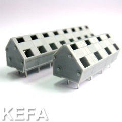 spring terminal block for double wire connection KF243A