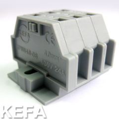 spring terminal block for cable to cable connection KFWS4-DB