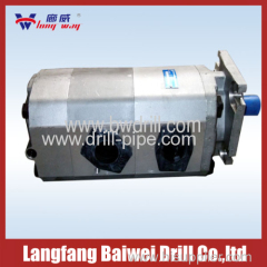 Gear pump for product