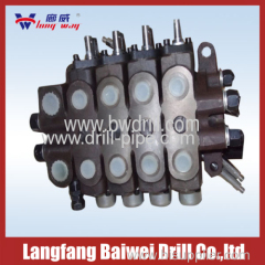 Quadruple valve Drilling Machine