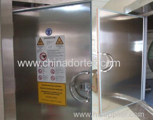 Stainless Steel MRI shileding Doors with Bronze Tape