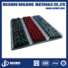 Aluminum entrance mat for dust removal