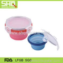 High quality food grade collapsible silicone crisper