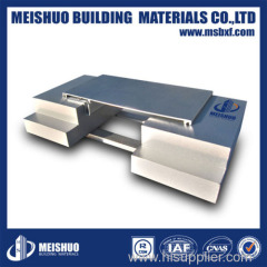 Aluminum wall expansion joint cover in building materials