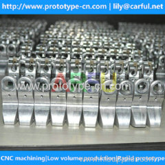 2015 new cnc machined aluminum parts with anodized in China
