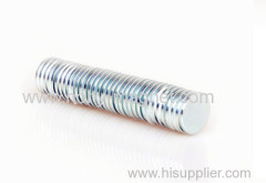 n40 round disc sintered neodymium magnet with rohs
