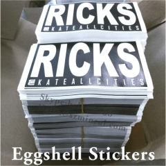 cannot remove eggshells graffiti stickers sheets