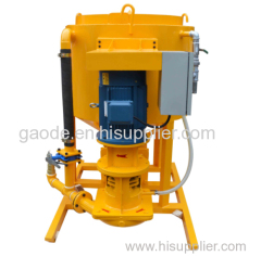 high shear grout mixer (wing shaft type)