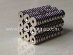 N35 Ni-coated Ring Neodymium Magnet
