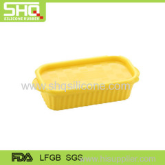 100% food grade silicone preservation & lunch box