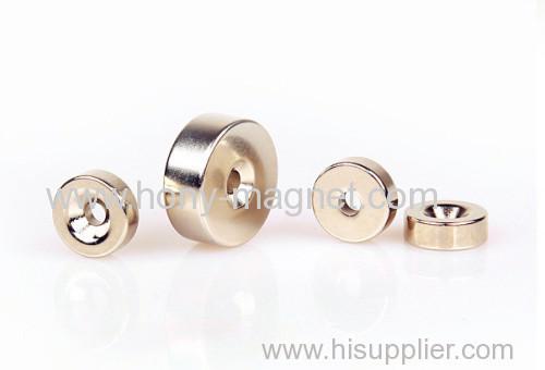 Neodymium Magnet 1/2 x 1/4 x 1/8 inch Ring N48