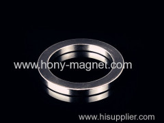 Zn Plated permanent Ring neodymium magnets
