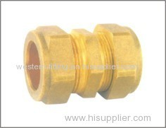Brass Compression Fitting With Nut