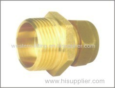 Compression Fitting Hexagon Fitting Male Fitting