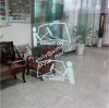 Custom no adheive silkscreen reverse printed glass window use transparent static cling stickers