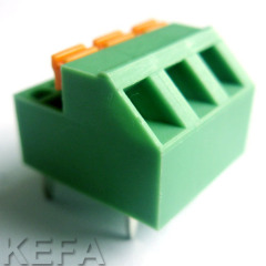 PCB screwless terminal block KF237